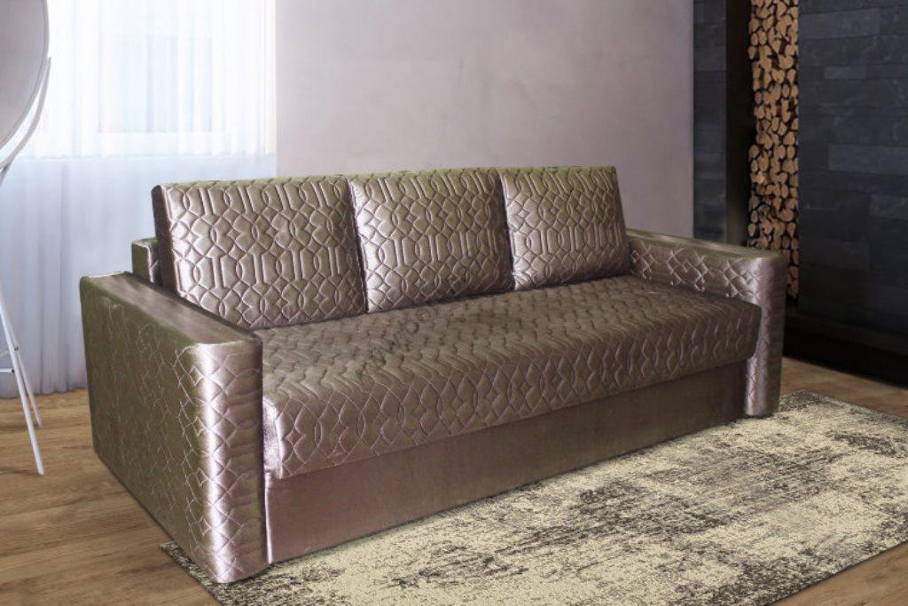 прямой диван с механизмом тик так