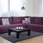 угловой диван фиолет