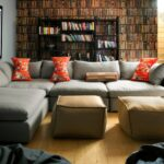 угловой диван большой