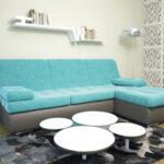угловой диван два цвета