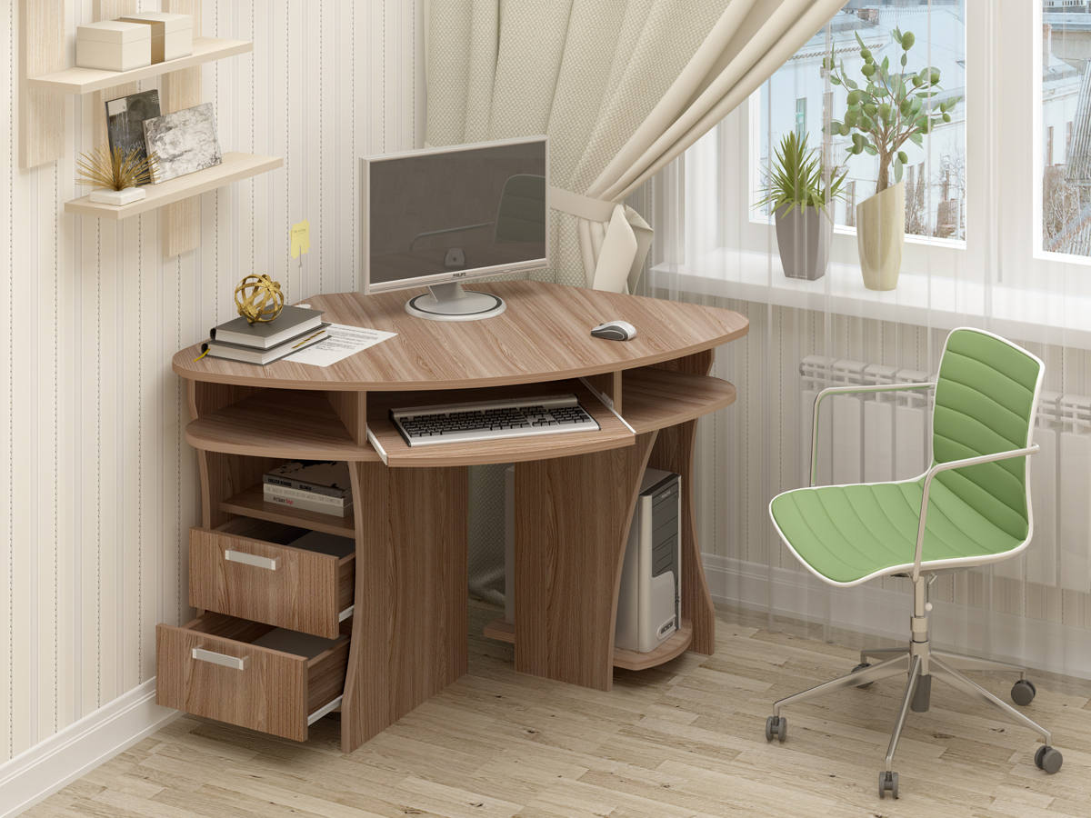 смотреть фото компьютерных столов