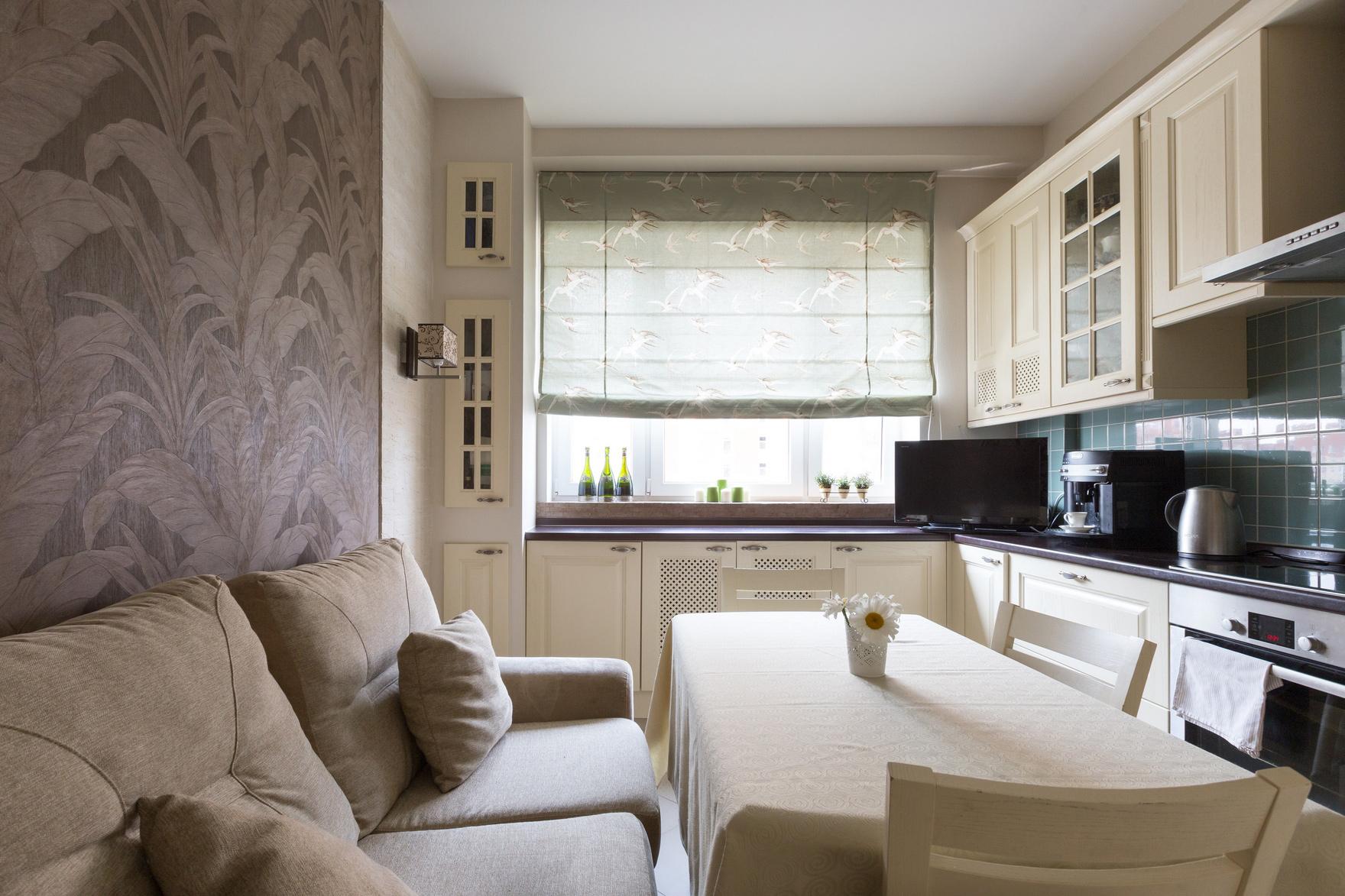 комфорт дивана на кухне