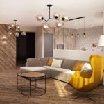 кухня 12 м с диваном с подушками