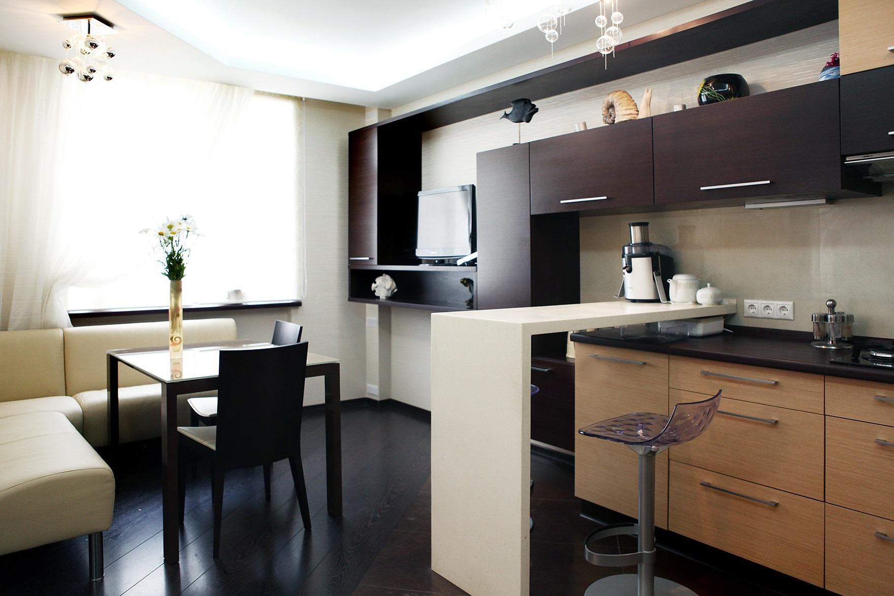 дизайн 12-метровой кухни