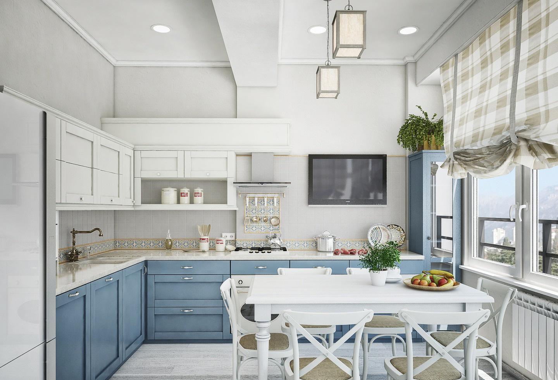 расширение пространства на кухне