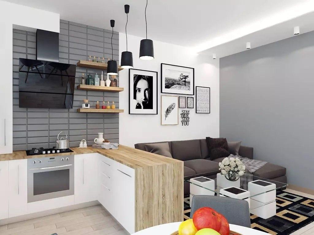 формы кухонного помещения