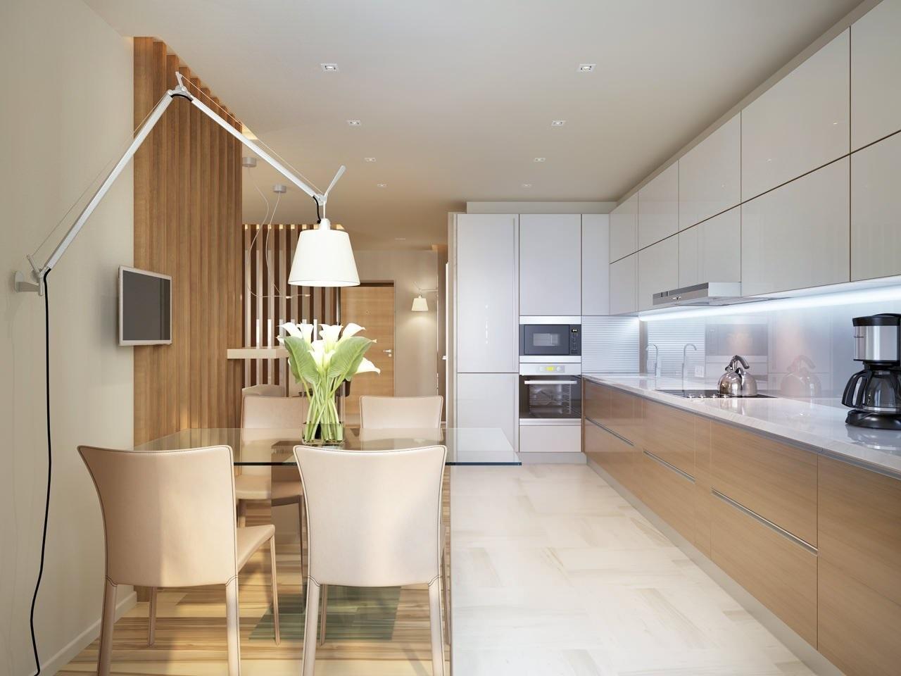 минималистическая кухня