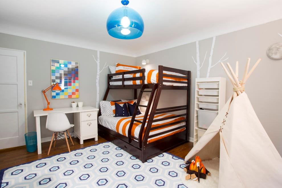 оформление небольшой детской комнаты