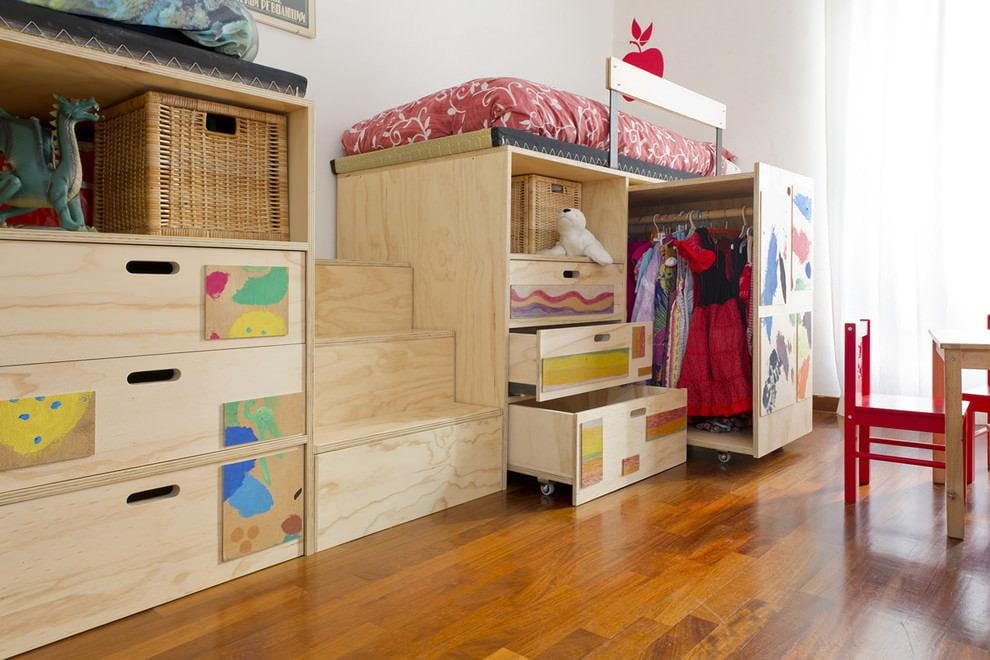 детская мебель из дерева