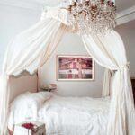 кровать с балдахином корона