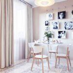 стена возле стола на кухне дизайн