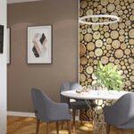 стена возле стола на кухне идеи декора