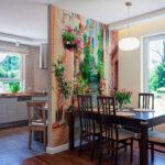 стена возле стола на кухне идеи