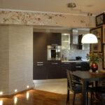 стена возле стола на кухне идеи оформление