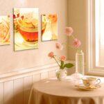 стена возле стола на кухне идеи вариантов
