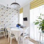 стена возле стола на кухне идеи виды