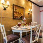 стена возле стола на кухне фото дизайн