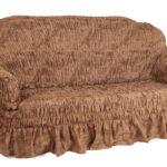 еврочехол на диван жатый с юбкой