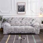 еврочехол на диван с рисунком