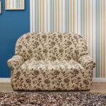 еврочехол на диван с орнаментом