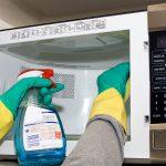 как почистить микроволновку внутри
