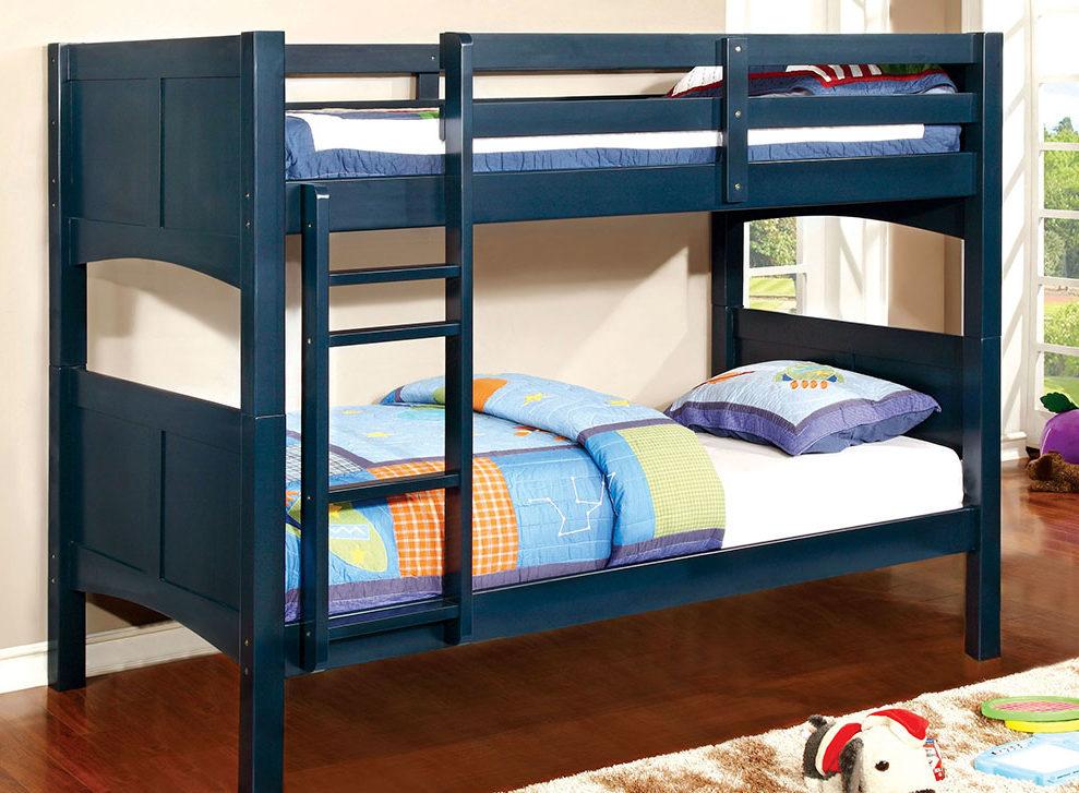 как красиво заправить кровать двухъярусную