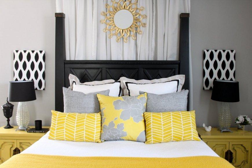 как красиво заправить кровать с подушками