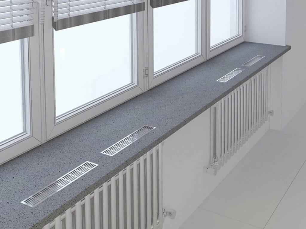 радиаторы на балконе