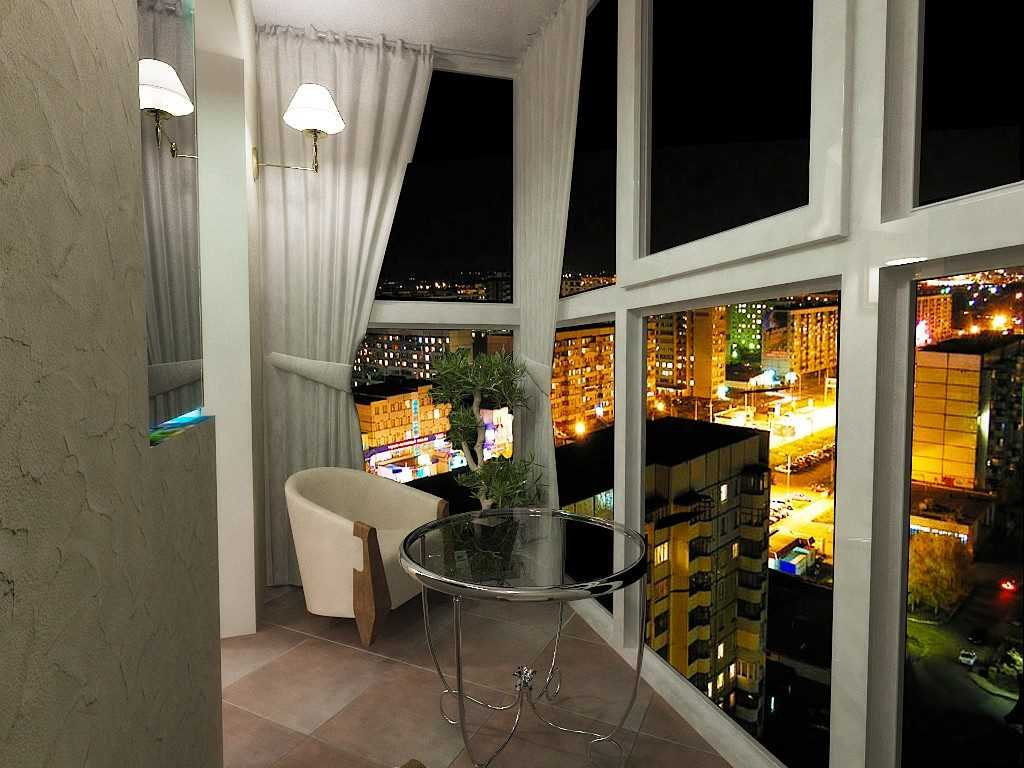 прекрасный вид с балкона