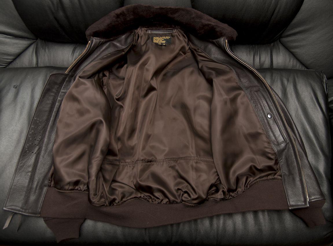 чистка подклада кожаной куртки
