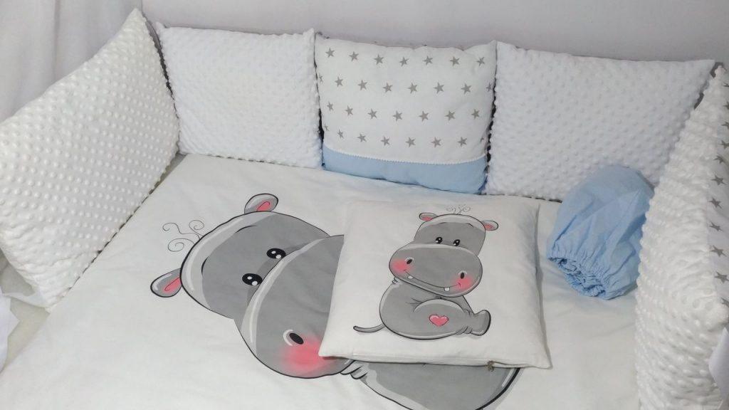ткань для бортиков в кроватку