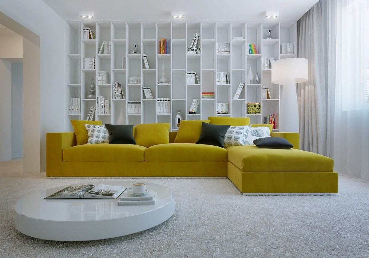 подбор цвета дивана в гостиную