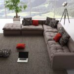 диван угловой с подушками