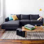 диван угловой темно-серый
