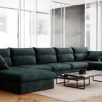 диван темно-зеленый