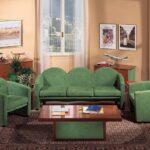 круговое размещение мебели