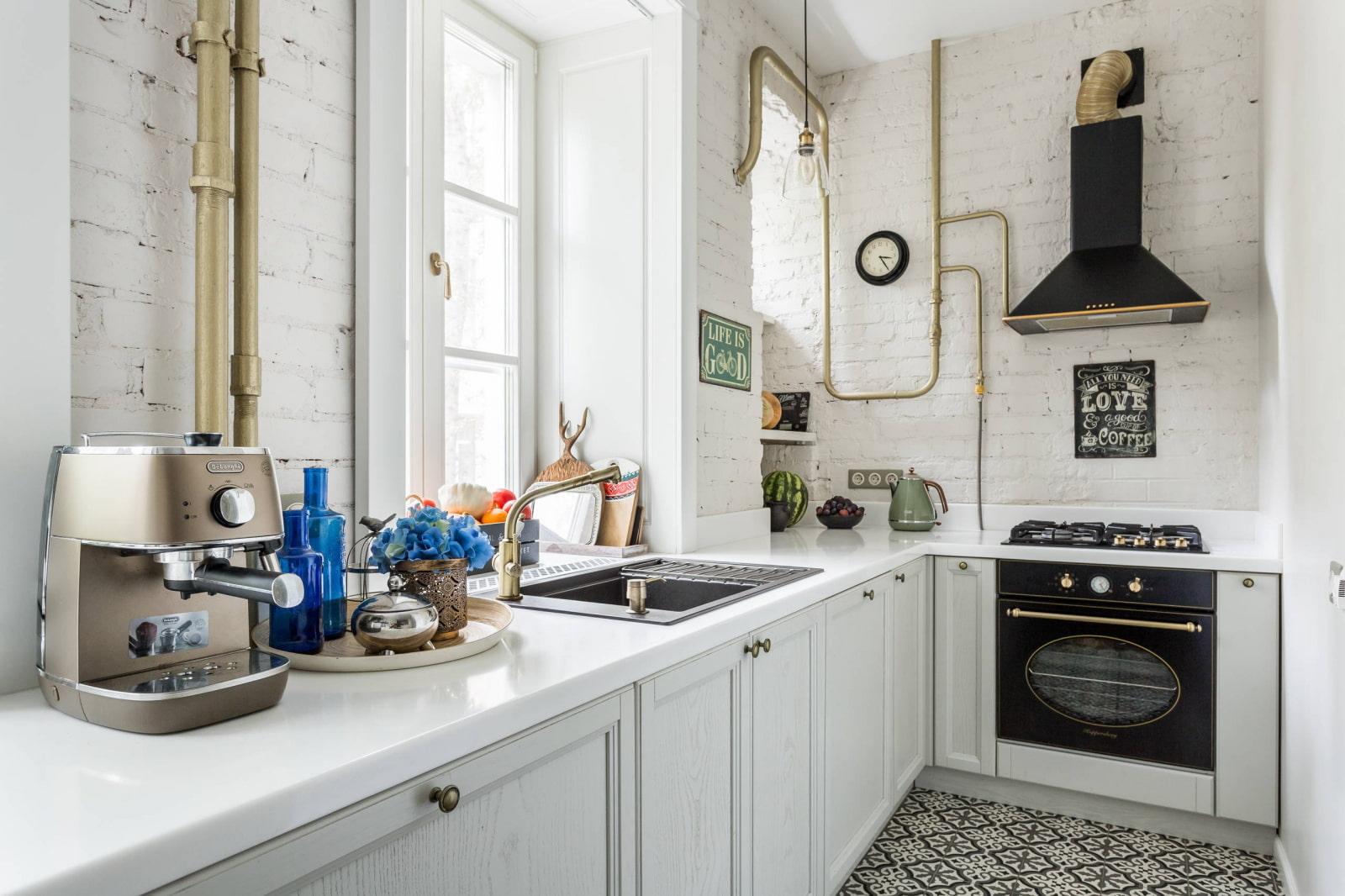 кухонный гарнитур с раковиной