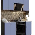 фасад кухни голубая