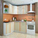 фасад кухни оранж