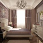 комод в спальне интерьер