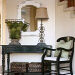 консольный столик интерьер фото