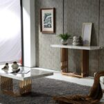 консольный столик фото интерьер