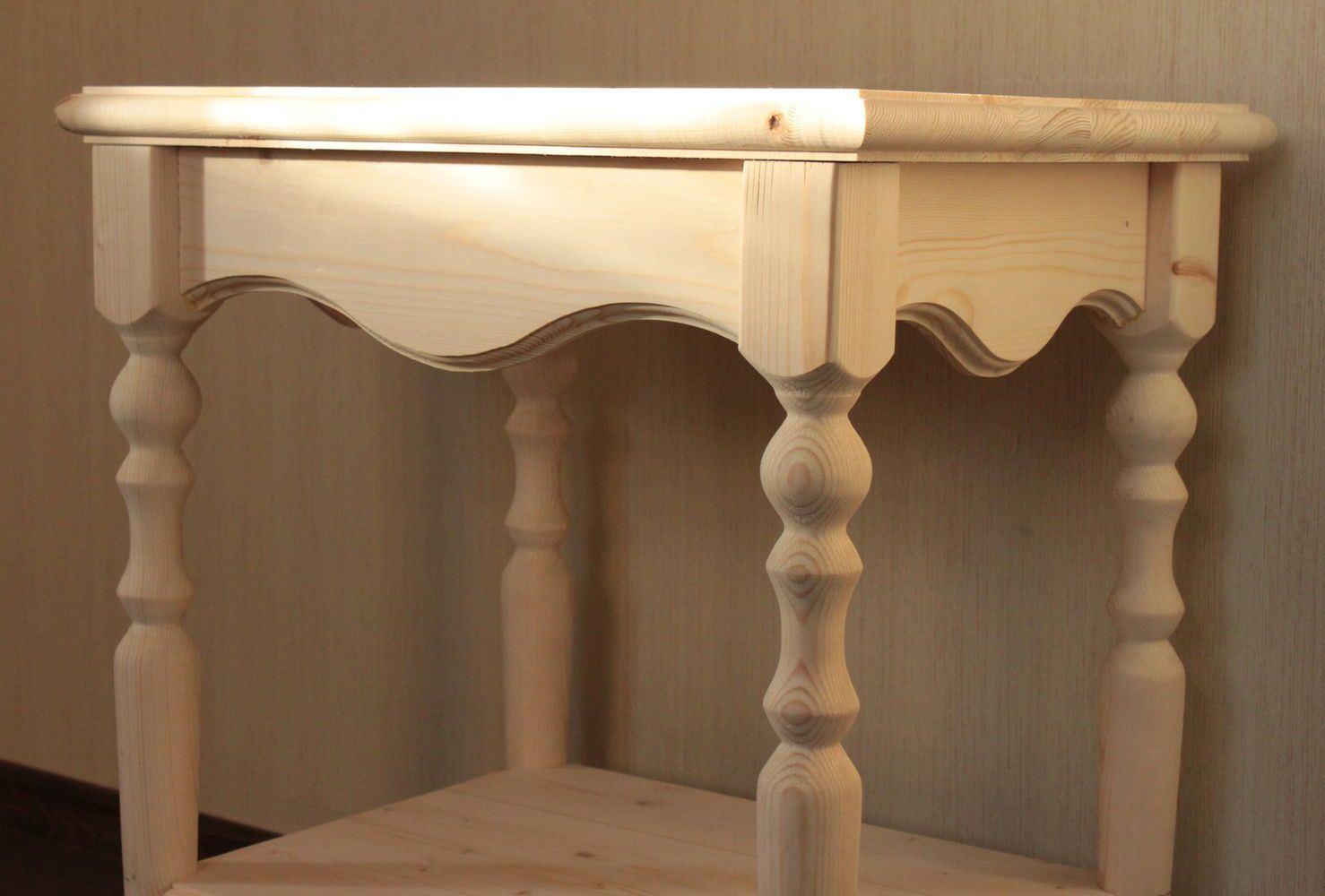консольный столик из балясин