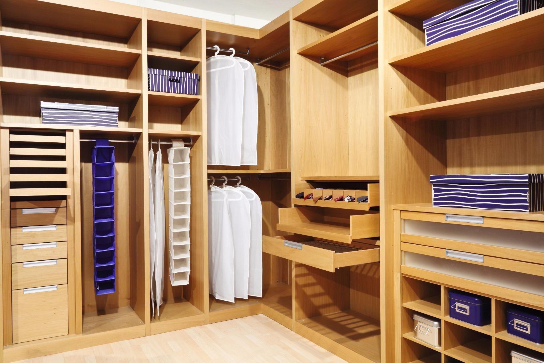 конструкции полок для гардероба