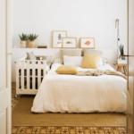 красиво заправленная кровать декор