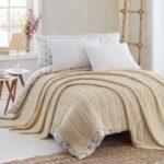 красиво заправленная кровать идеи дизайна