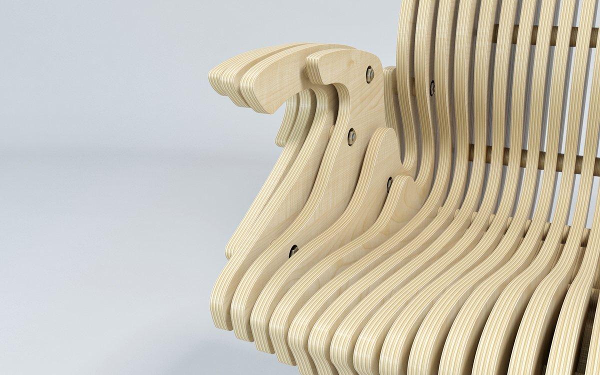 кресло из фанеры фото идеи