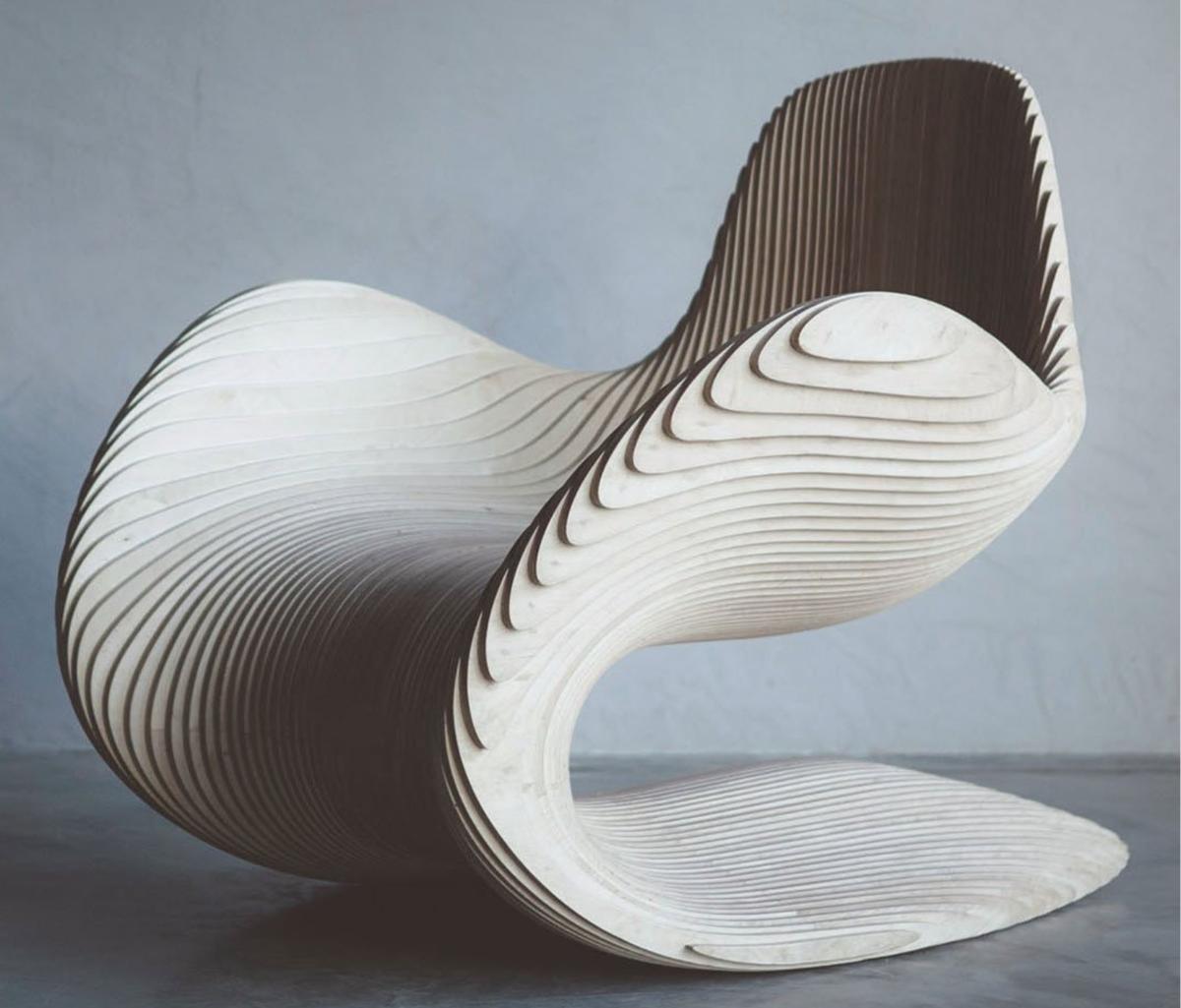 кресло из фанеры фото