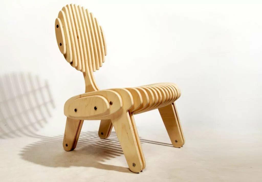 кресло из фанеры идеи фото
