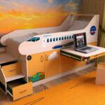 кровать чердак фото декор